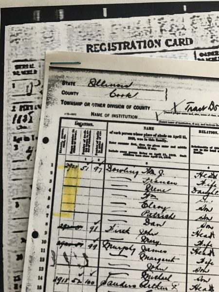 Searching adjacent records in genealogy research