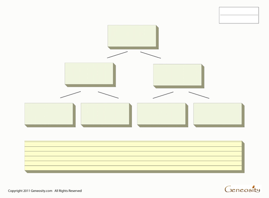 blank family tree template free